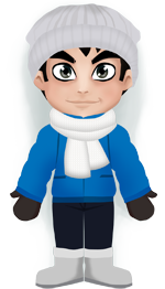 Weather Sadki: Cold, -8°C, variable cloud, no precipitation